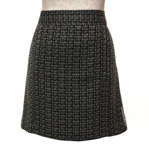LOFT A-Line Tweed Skirt